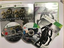 SONY PLAYSTATION 3 PS3 GAME DARKSIDERS 1 I & II 2+BOX  INSTRUCTIONS COMPLETE PAL