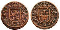 España-Felipe III. 8 Maravedis 1606. Segovia. MBC+/VF+ Cobre 5 g. Bonita