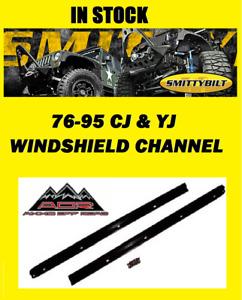 Smittybilt Windshield Channel 90101 for 76-86 Jeep CJ5 -CJ7 & 87-95 YJ Wrangler