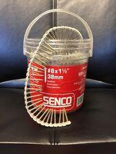 """Senco #8x1-1/2"""" Auto-Feed Screws (1000 count) 08F150Y"""