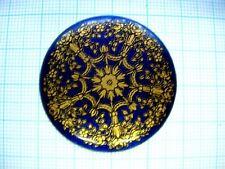 Grand médaillon 38mm décor berain émail gousset montre enamel pocket watch GR12