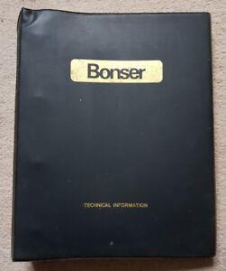 BONSER D2000K D2500K FORKLIFT PARTS CATALOGUE EDITION 2