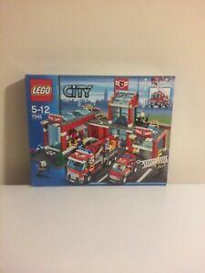 LEGO City - 7945 - Fire Station - MIB - Unopened - 2007 - Free Post + Track
