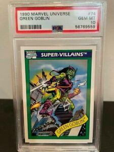 1990 Marvel Universe GREEN GOBLIN #93 ~ PSA 10 MINT ~ Super-Villian
