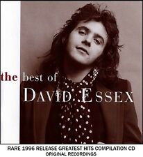 David Essex - The Very Best Greatest Hits Collection RARE 1996 CD 70's 80's Pop