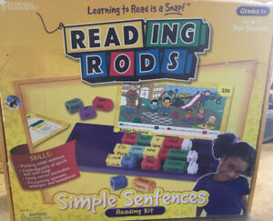 Learning Resources Reading Rods Sentence Building Kit