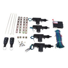 Car Central Locking System Keyless Entry with 4 Power Door Lock Actuator Kit