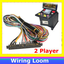 Arcade Harness 56 Pin Wiring Loom 2 Player Joystick & 6 Buttons Player for JAMMA