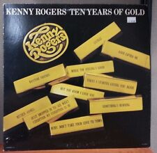 Kenny Rogers – Ten Years Of Gold LP Sealed Vinyl Record UA-LA835-H 1977 USA
