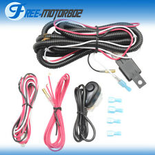 Universal 40A 12V Power Switch Relay Fuse Wiring Harness Kit LED Light Bar