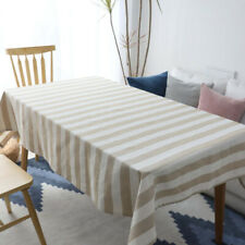 Stripe Tablecloth Desk Table Cloth Placemat Table Runner Covers Party Home Decor