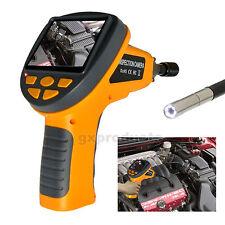 Ispezione Videocamera 5,5 millimetri Endoscopio 6 LED Periscopio 180° Rotazione