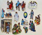 Nativity Felt Figure Set Christmas Birth Jesus For Bible Flannel Board Stories