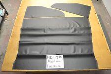 1969 69 1970 70 MUSTANG FASTBACK BLACK CARBON FIBER LOOK VINYL HEADLINER USA