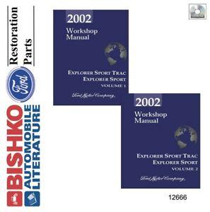 service & repair manuals for 2002 ford explorer for sale   ebay  ebay