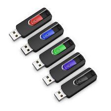 5PCS 8GB USB Flash Drives Memory Sticks Pen Drives 5 Colors Thumb Sticks Lots