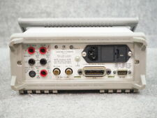 Hp Agilent Keysight 34401a 6 Dmm With5519a Test Leads Warranty And Cal Cert