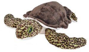 Sea Turtle Green Plush Stuffed Soft Toy 30cm by Wild Republic