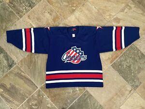 Vintage Rochester Americans Amerks SP Hockey Jersey, Size Large