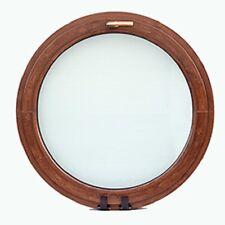 Holzfenster rund, Softline Meranti 68 mm, B 800mm x H 800mm