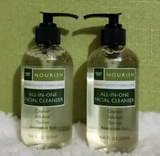 (2) Bottle Trader Joe's Nourish All In One Facial Cleanser 8.45 oz Each