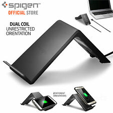 Fast Wireless Qi Charger Charging Stand Pad Genuine Spigen F303w Galaxy Note 9 8