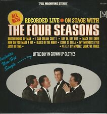 """Four Seasons """"Recorded Live On Stage"""" 1964 Stereo LP VJS 1154 """"Mack The Knife"""""""