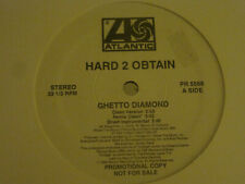 "HARD 2 OBTAIN GHETTO DIAMOND 12"" 94 ATLANTIC PR 5566 WHITE LABEL PROMO SD50s VG+"