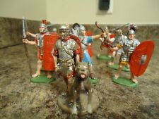 romans toy soldiers hand painted 54mm 60mm plastic