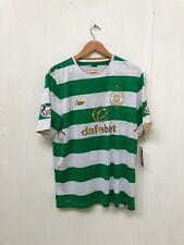 Celtic FC New Balance Mens 2017/18 SPL Home Shirt- Large - Mackay-Steven 16 -New
