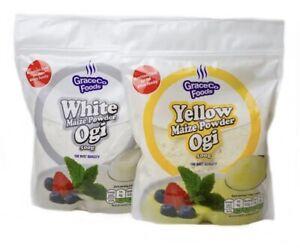 OGI ,PAP, AKAMU Graceco White and Yellow.