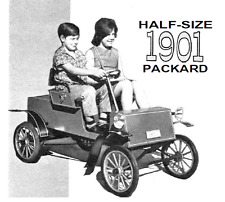 VINTAGE 1901 PACKARD ELECTRIC KIDS RIDE ON CAR PLANS  RESALE BUSINESS