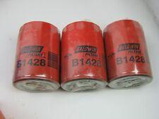 Lot of (3) NOS Engine Oil Filter Baldwin B1428