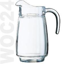 2,3 L Glas Pitcher Bierkrug Karaffe Glaskrug Saftkrug Weinkrug Wasserkrug Krug