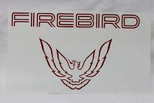 93-97 Firebird Rear Tail Light Filler Panel Decal Red