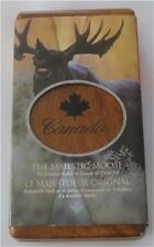 CANADA SILVER $5 DOLLAR & STAMP SET MOOSE PROOF 2004