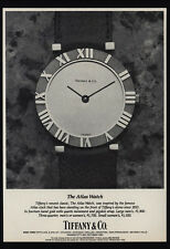 1983 TIFFANY & CO. 14K Gold Atlas Watch - Atlas Clock - VINTAGE AD