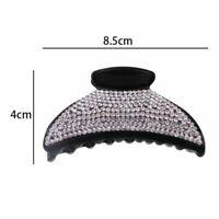 Hairpin Women Large Headwear New Rhinestone Luxury Crystal Clip Hair Claw