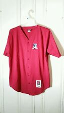 SAN FRANCISCO GIANTS JERSEY RED XXL SHORT SLEEVE EMBROIDERED