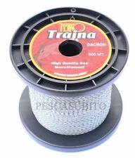 Trecciato Dacron Pesca Traina Bolentino Profondo 500Mt 20Lbs Multifibra Mare TP