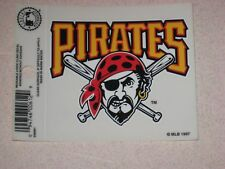 Pittsburgh Pirates MLB Baseball Reusable Static Cling Window Decal Sticker