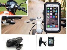 "Soporte bicicleta moto impermeable funda bolsas universal lg g6 5.5"""