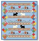 PUPPY+LOVE+Quilt+Kit+-+Moda+Scottie+Dog+Fabric+%2B+Quilt+Pattern