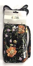 Jessica McClintock RFID All In One Crossbody Wristlet Bag Phone Travel Case