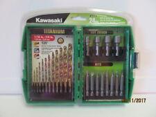 Kawasaki 24 pc Drill & Driver Bit Set - 841618
