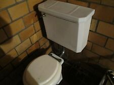 VINTAGE TRENT TOILET WALL MOUNT TANK NICE CONDITION 1934