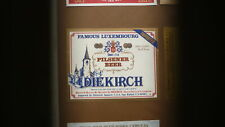 OLD LUXEMBOURG BEER LABEL, BRASSEREI DIEKIRCH, PILSENER BEER