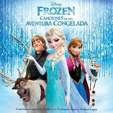 Frozen: Canciones de una Aventura Congelada Various Artists (CD, Walt Disney)
