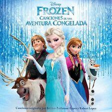 Frozen: Canciones de una Aventura Congelada Various Artists (CD, Walt Disney)