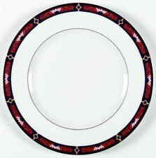 Wedgwood Chippendale Blue and Rust Dinner Plate 781745
